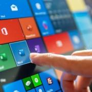 Microsoft 365 touch screen
