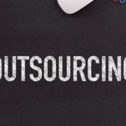 Outsourcing IT serviced sign