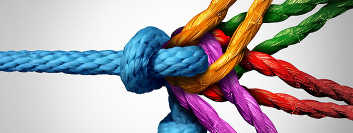 rope symbolizes managed services reliability